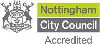 Nottingham City Council Certification logo