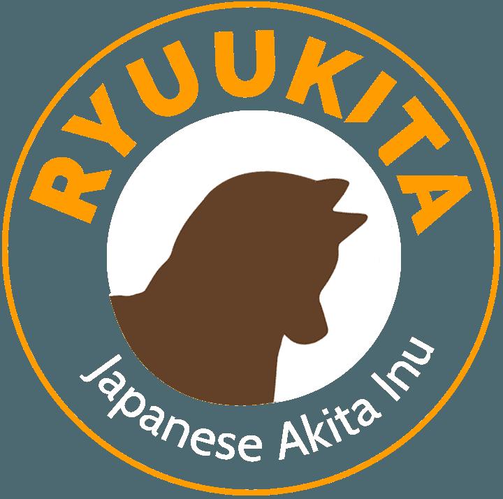 Ryuukita Japanese Akita Inu UK logo