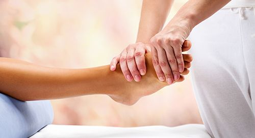 Professional giving Lymphatic Massage in West St. Paul