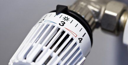 central heating temperature adjustment