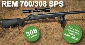 Remington 700 Silenced 308