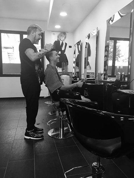 Taglio capelli per bambino