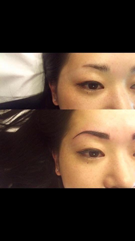 I tatuaggi semipermanenti e sostitutivi del make-up