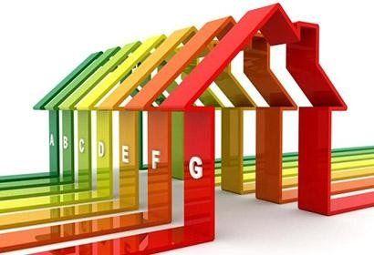 case stilizzate che rappresentano classificazione energetica