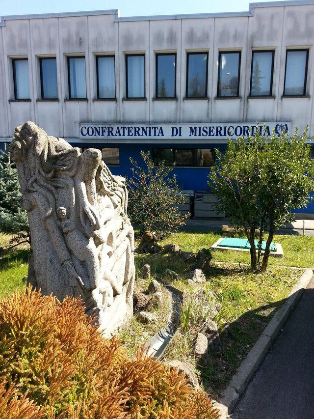 Facciata dell'edificio Confraternita di Misericordia