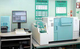 Pharmaceutical services - Swansea, Wales  - Kevin Thomas Pharmacy - Fuji lab