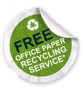 free office paper recycling service