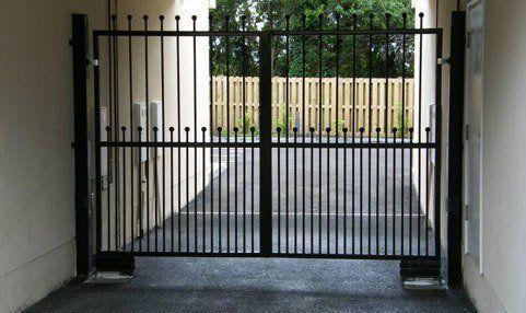 Grill gates
