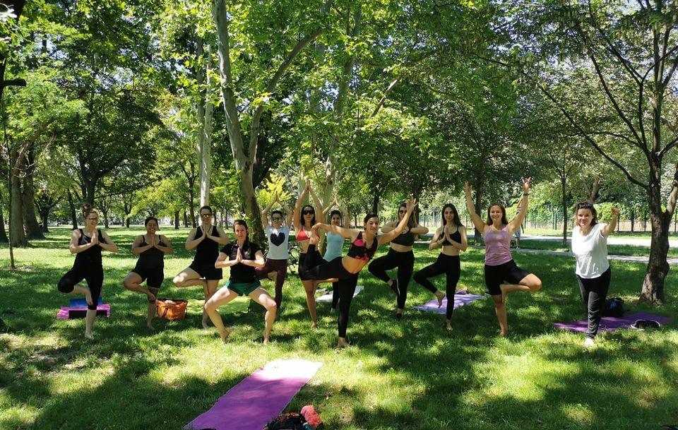 Yoga In The Park Online Yogawithyordanka