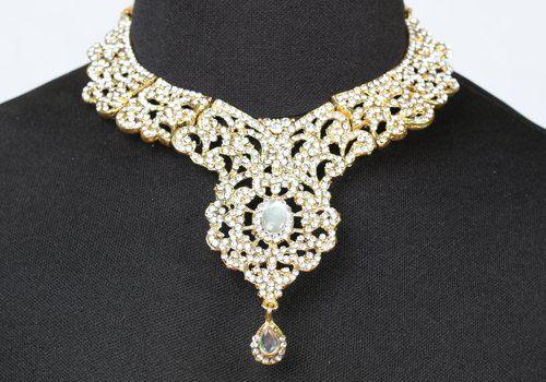 Collana in oro con diamanti