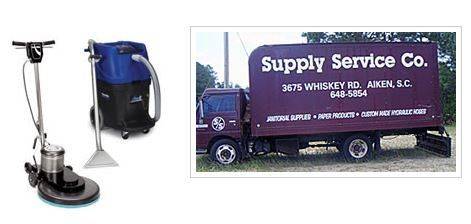 Located in Aiken, South Carolina, Supply Service Company provides commercial cleaning supplies, janitorial equipment rentals, food service and party ...