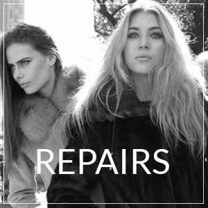 Quality fur coat repair
