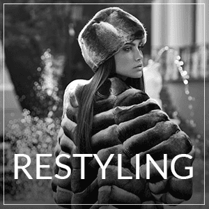 Professional fur coat restyling