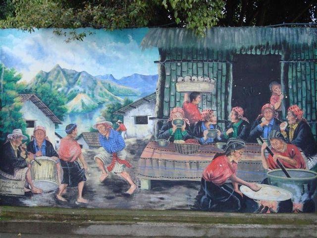 Lake Atitlan painting