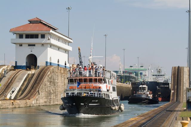 Panama Partial Canal Transit