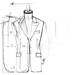 ... sono ciò che dagli anni sessanta a Roma caratterizza e definisce al  meglio l arte sartoriale del laboratorio Sagripanti. L abito è creato su  misura ... 474d2934c1a