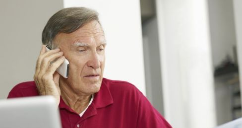 Man calling to purchase fire protection equipment in Dothan, AL