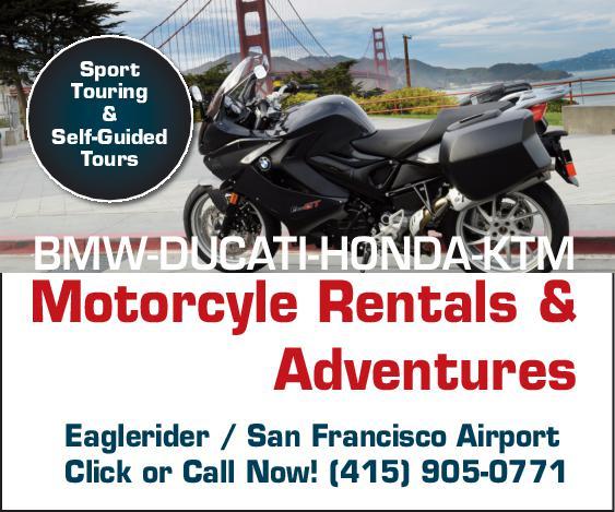 Eaglerider - Motorcycle Rentals - COAX Marketing - San Francisco