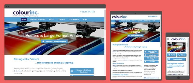 Colour Inc website