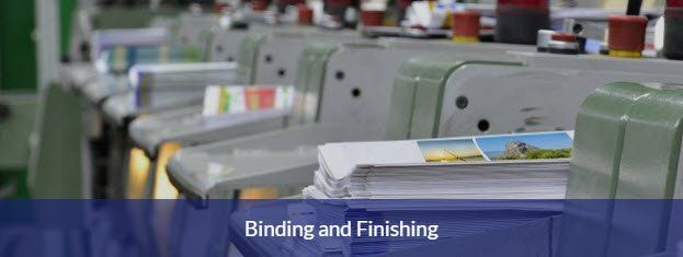 Document binding and print finishing Basingstoke
