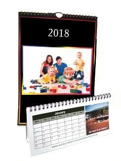 Personalised Calendar printing service by Colour Inc