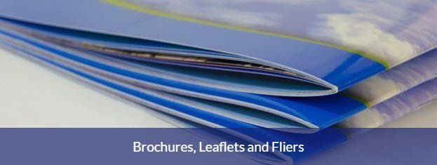 Brochure, leaflets, fliers & flyer printing Basingstoke Hampshire