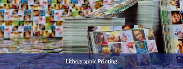 Lithographic (litho) printing service for Basingstoke Hampshire
