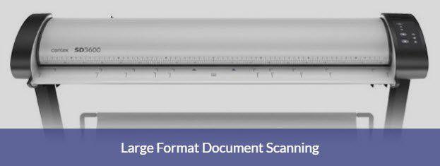 Large format document scanning service Basingstoke Hampshire area