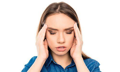 Ogni problema ha souzione, mal di testa, stress