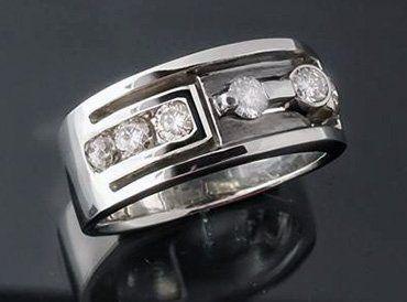 Handcrafted Jewelery - Men's Custom Ring Design