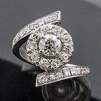 custom engagement ring - rockford, il