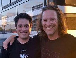 Christopher Anderson with Kevin Martin of Candlebox