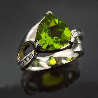 Rockford Jewelers Christopher's Custom Emerald Ring Design