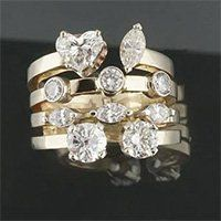 Jewelry Rockford IL Custom Anniversary Ring Design