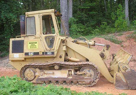 Bulldozer for Tree Service in Gastonia NC
