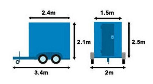dimensions of a trailer