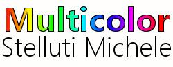 Multicolor Stelluti Michele logo