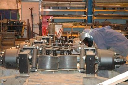 Re-manufacture axles