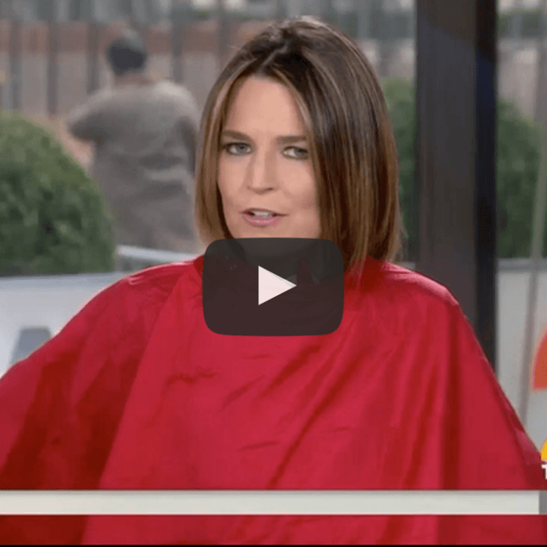 NBC Today Show Video - Red iCape Used By Savannah Guthrie