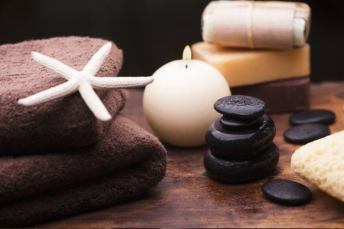 asciugamani ed accessori per un centro estetico