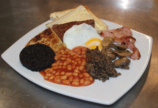 Delicious breakfast at Milgavie Cafe