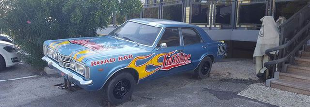 Auto americana al Gasoline Road Bar di Ravenna