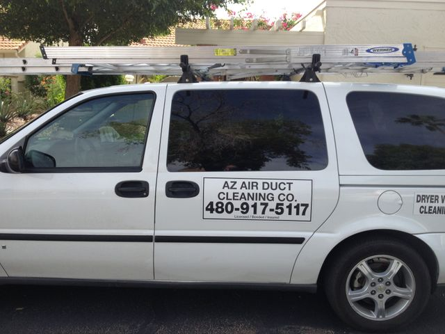 Arizona Air Duct van