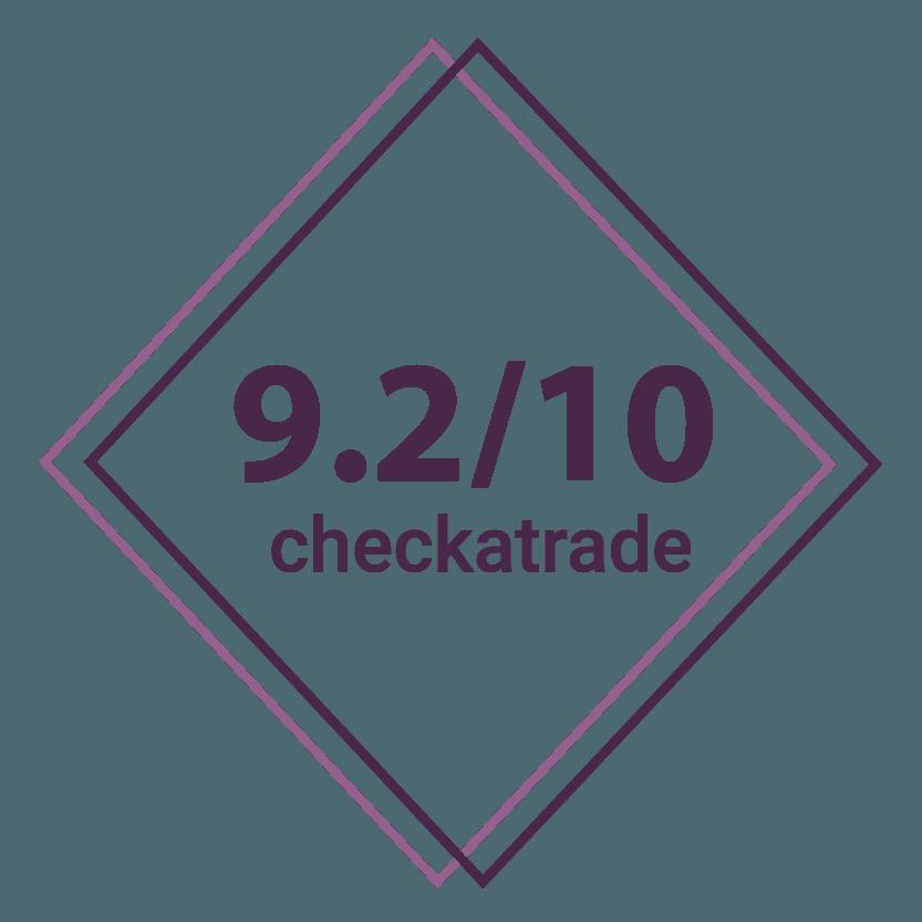 9.2/10 checkatrade