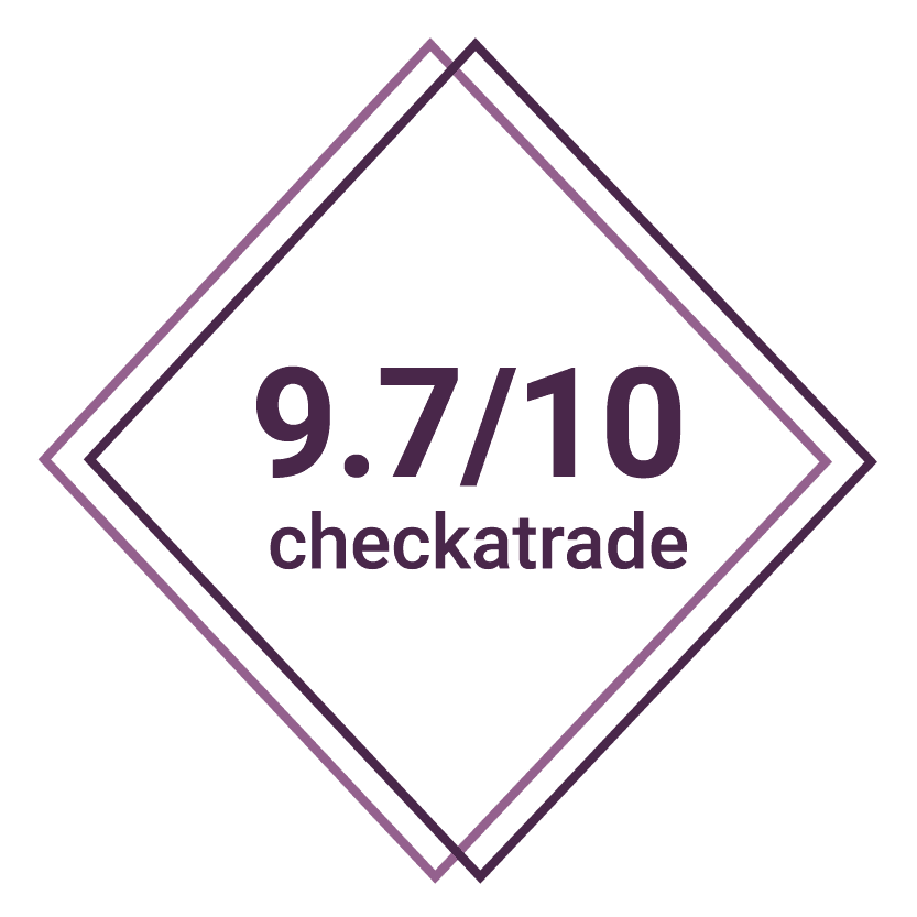 9.7/10 checkatrade review