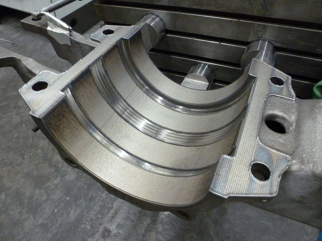 Cast iron repair