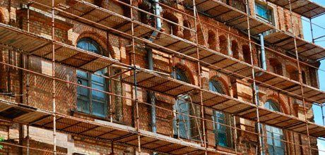 scaffolding for new builds