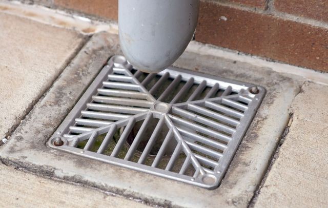 A cleaned drain in Hastings