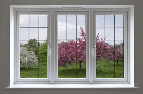 triple leaded double glazed windows