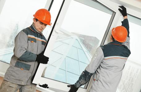 fitting a double glazed window unit